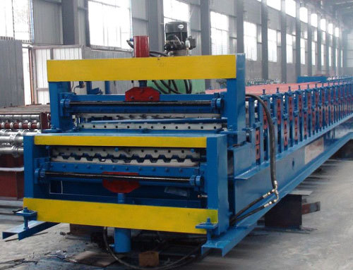 The Advantage Of Double Roll Forming Machine