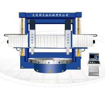 The Ck5225 Cnc Double Column Vertical Lathe
