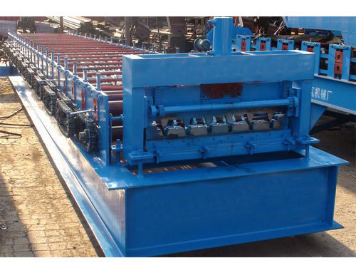 The Double Layer Roll Forming Machine
