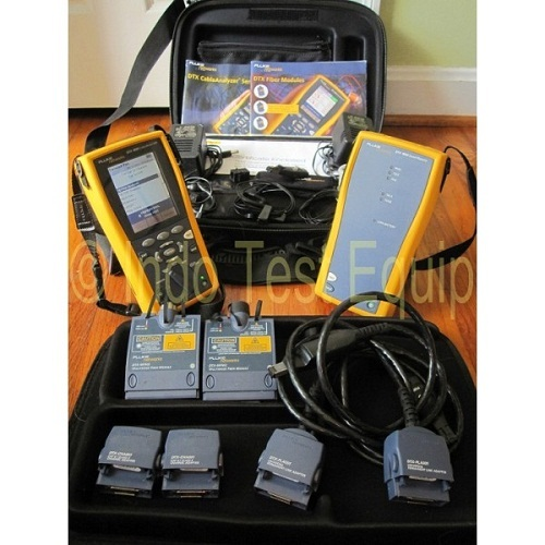 The Fluke Networks Dtx 1800 Cable Tester