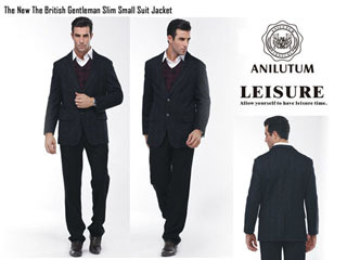 The New British Gentleman Slim Small Suit Jacket R206100
