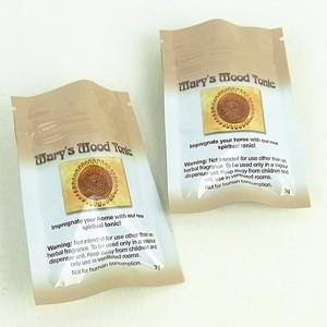 Three Side Seal Plastic Packaging Bag
