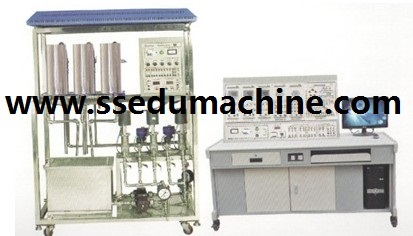 Three Tank Water Control System Trainer Technical Teaching Equipment