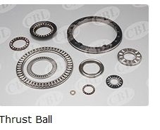 Thrust Ball Bearing With Flat Seat
