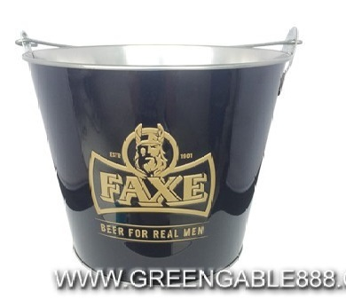 Tinplate Ice Bucket For Promotional Gift