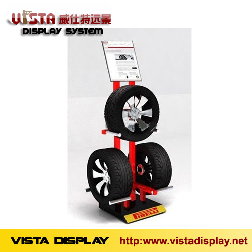 Tire Display Rack Stand