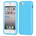 Tire Pattern Silicone Case For Iphone 5