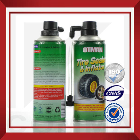 Tire Repair Quickly Sealant With Air Compressor