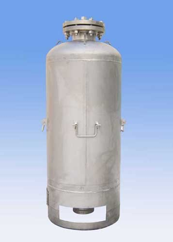 Titanium Reservation Tank For Aviation