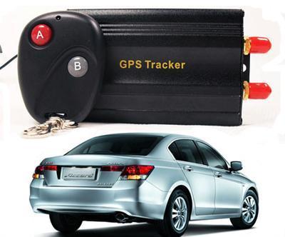 Tk103b Car Gps Tracker Remote Control Quadband Alarm Free Spanish Portugues