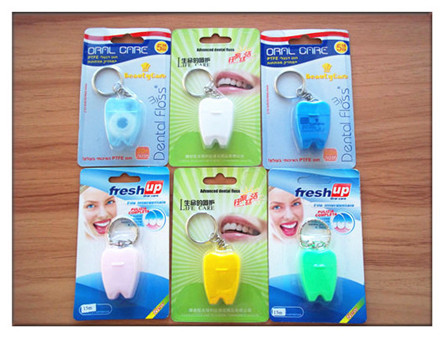 Tooth Shape Dental Floss
