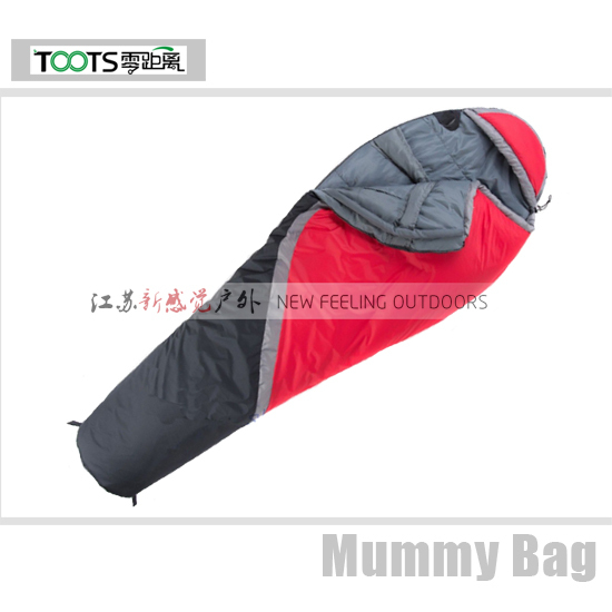 Toots Mummy Shape Double Layer Family Camping Sleeping Bag