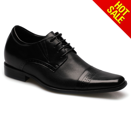 Top Quality Handmade Wedding Bridegroom Lace Up Shoes 021b02
