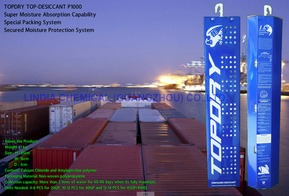 Topdry Desiccant Against Condensation In Shipping Container