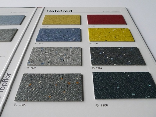 Topflor Safetred Heterogeneous Vinyl