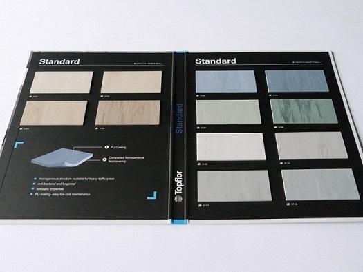 Topflor Standard Homogeneous Vinyl