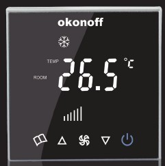 Touch Screen Thermstat Q8