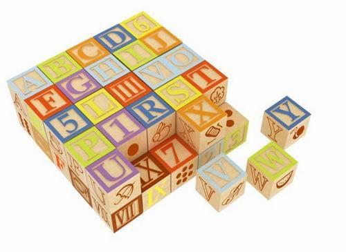 Tp110015 Wd Alphabet Blocks 30pcs