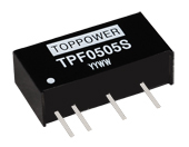 Tpf 1w Isolated Regulated Single Output Dc Converters