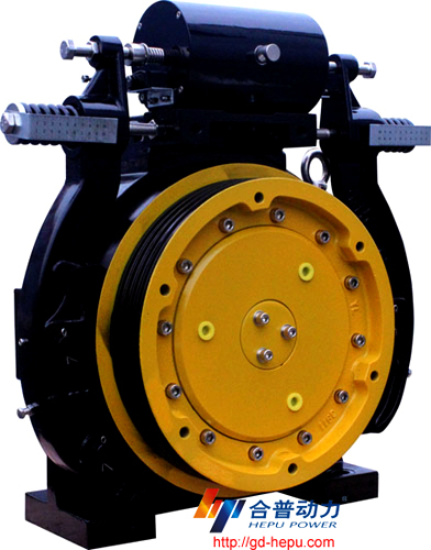 Traction Machine For Elevator