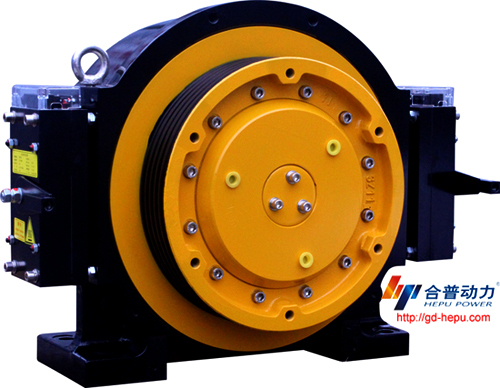 Traction Machine For Lift