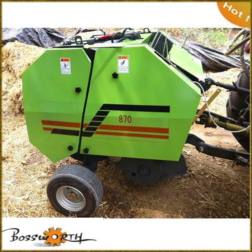 Tractor Farm Hay Baler