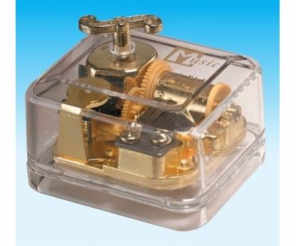 Transparent Music Box Golden Wind Above