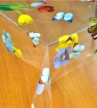 Transparent Pvc Table Linen