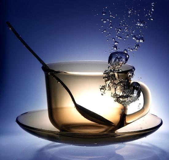 Transparent Tea Glass Cup