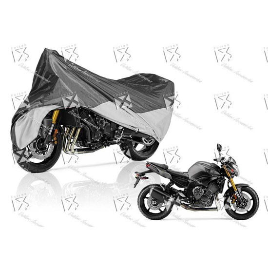 Treated Polyester Motorcycle Cover