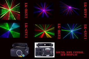 Tri Colors Laser Brand New Beam Show System