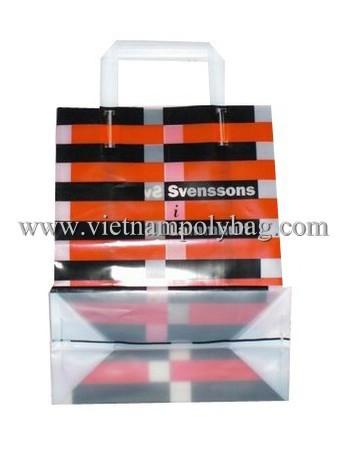 Trifold Plastic Shopping Bag