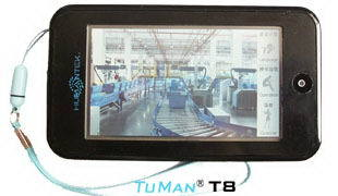 Tuman T8 Automatic Induction Touch Screen Guide