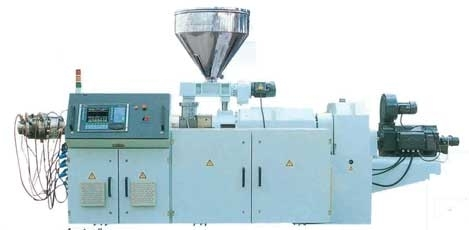 Twin Conical Parallel Screw Extruders