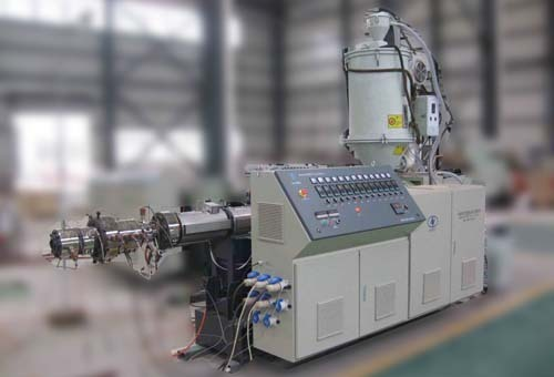 Twin Screw Extruder For Pipe Plate Profile Board Production Line