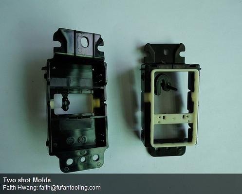 Two Shot Molds Twin Molded Parts
