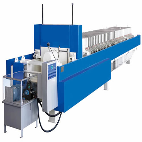 Type 1500 Quick Opening High Pressure Pp Membrane Filter Press