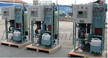 Type Osmosis Ro Fresh Water Generator
