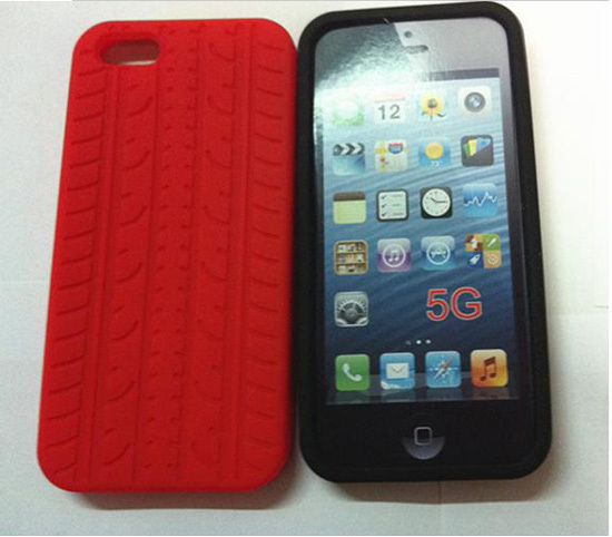 Tyre For Iphone 4s Silicone Case Mobile Cover Sctyre