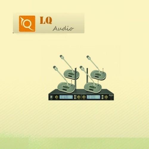 U8080 Uhf 4x Wireless Microphones