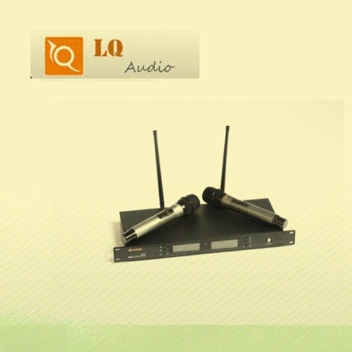 U900 Uhf 2x Wireless Microphones