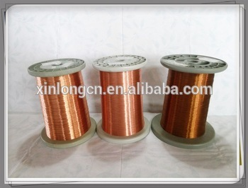 Ul Approved Solderable Polyurethane Class 130 155 180 Enameled Copper Wire