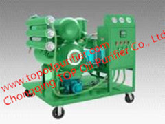 Ultra High Voltage Insulation Oil Filtration Device Out Rate Simple Operati