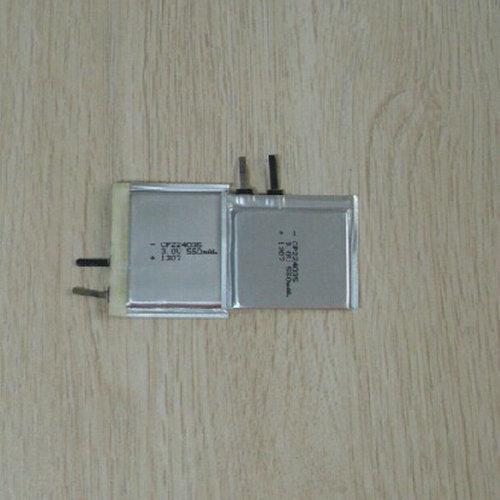 Ultra Thin Battery Cp224035 3v 550mah Limno2 For Rfid