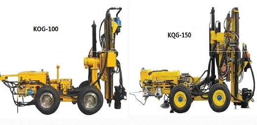 Underground Drills T Series Of High Pressure Ring Submersible Drilling Rig
