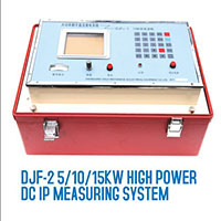 Underground Gold Detector Djf 2 5 10 15kw High Power Dc Ip Measuring System