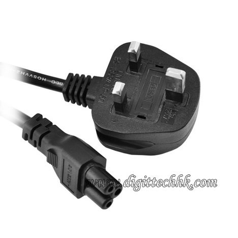 Universal Ac Power Supply 3 Prong Cable Adapter Cord