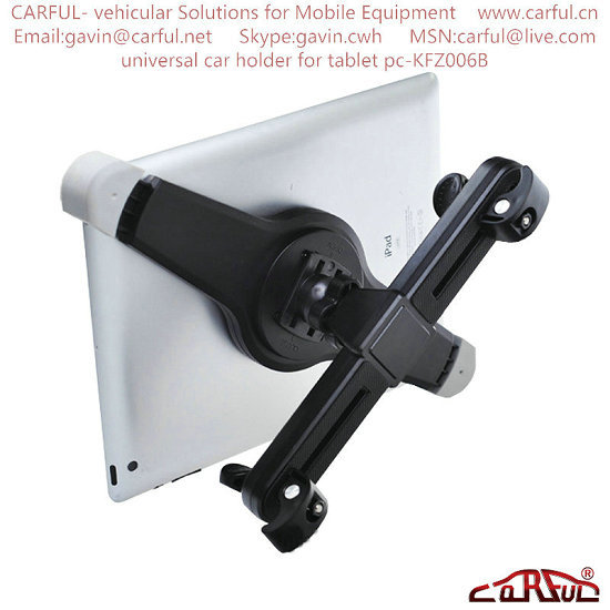 Universal Car Holder For Tablet Pc Kfz006b Ipad Mount