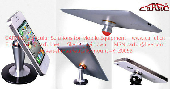 Universal Magnetically Mount Kfz005b Iphone Holder Ipad