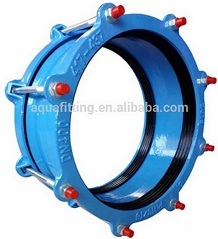 Universal Wide Range Coupling For Pvc Di Steel Pipe